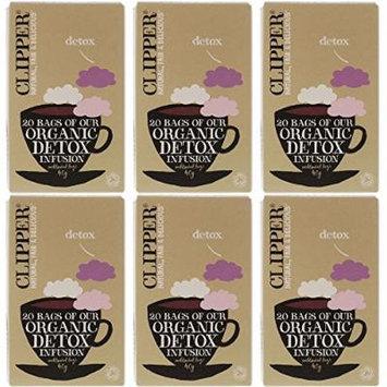 (6 PACK) - Clipper - Organic Detox Tea   20 Bag   6 PACK BUNDLE