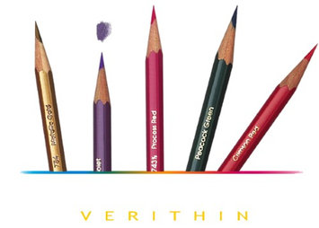 SANFORD 02435 ORANGE PRISMACOLOR VERITHIN ART PENCIL