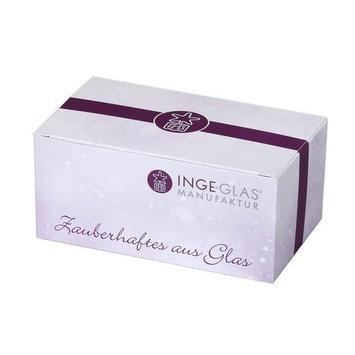 Inge Glas Riesling Wine Bottle German Glass Christmas Ornament 109313 FREE BOX