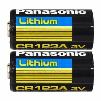 Panasonic CR123A 3V Long Lasting Lithium Batteries