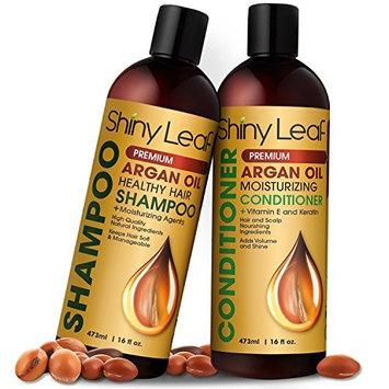 Argan Oil Shampoo and Conditioner Has Organic Argan Oil from Morocco, Safe for Color Treated Hair, Anti-Hair Loss Treatment, Repair Hair Damage, Strengthens Hair For Healthy Hair Growth 16 Fl. Oz.