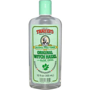 Thayers Witch Hazel with Aloe Vera, Alcohol Free, Original 12 oz