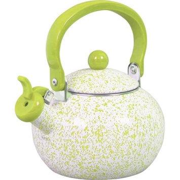Reston Lloyd 36991 Whistling Harvest Teakettle - Lime Sponge