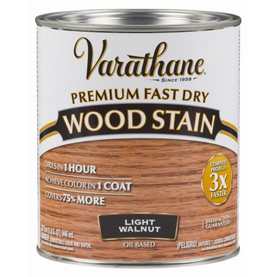 Rustoleum Brands Varathane 262015 Premium Fast Dry Wood Stain, 1 qt, Can, Liquid, Solvent Like, 0.889 Specific Gravity, 41 deg C