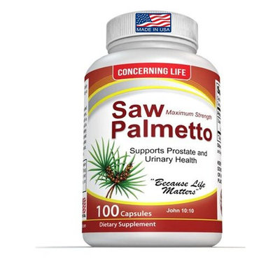 Saw Palmetto for Prostate Health - Promotes Healthy Urination Frequency and May Help with Hair Loss, DHT Blocker