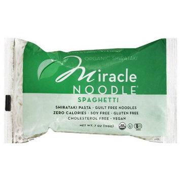 Miracle Noodle Organic Shirataki Spaghetti Pasta, 7 oz, (Pack of 6)