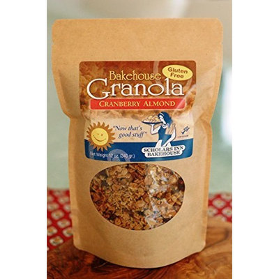 Bakehouse Gluten Free Cranberry Almond Granola (3 Pack)