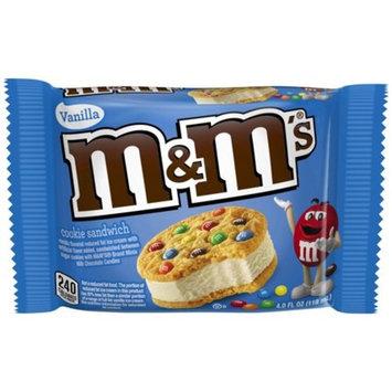 M&M'S® Vanilla Ice Cream Cookie Sandwich