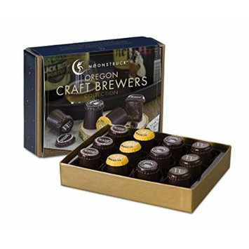 Moonstruck Chocolate 12-pc Oregon Craft Brewers Truffle Collection