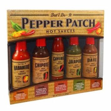 Dat'l Do-It® Pepper Patch Premium Hot Sauces Gift Set 23 fl. oz. Box