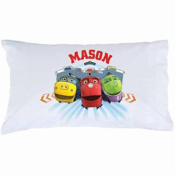 Personalized Chuggington Trainee Tracks Pillowcase