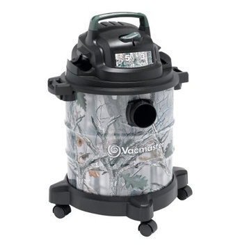 Cleva North America, Inc Vacmaster Camo Metal Tank Wet/Dry Vacuum, Model VOC507S 1001