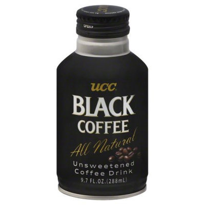 Ucc BCA52849 Unsweetened Black Coffee Drink 24 x 9.7 oz