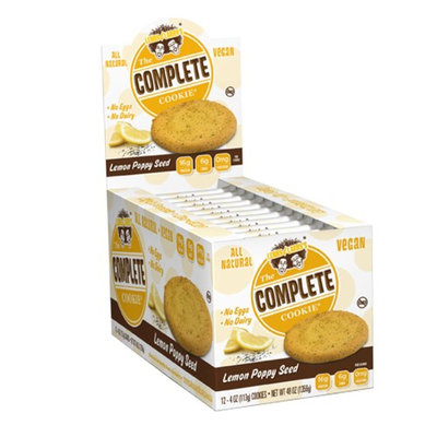 Lenny & Larry's, The Complete Cookie, Lemon Poppy Seed, 12 Cookies, 4 oz (113 g) Each(pack of 3)