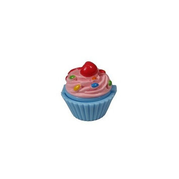Lip Gloss Sugar and Spice Lemon Twister in Cupcake Container By NPW