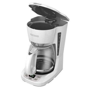 Spectrum Brands Black & Decker 12-Cup Programmable Coffee Maker, White