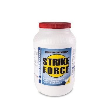 Harvard Chemical 7021 Strike Force Industrial Super Strength Carpet pH Detergent, Low Odor, 7.5 lbs Jar, White (Case of 4)
