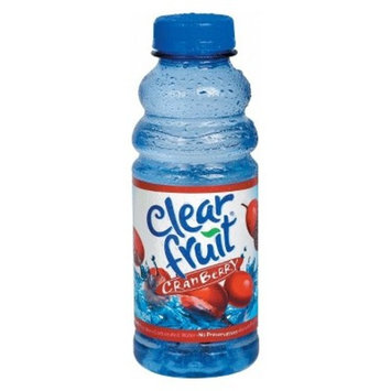 Clearfruit Cranberry Flavored Water - 20 fl oz Bottle
