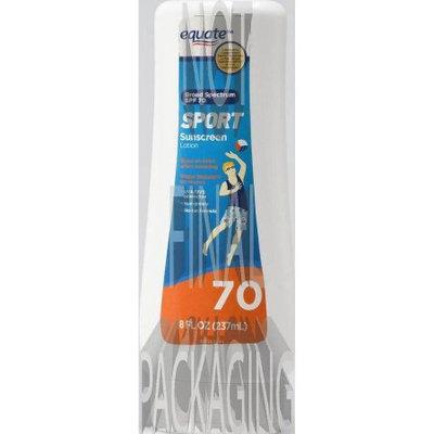 Bad image - Equate Sport Sunscreen Lotion SPF 70, 8 oz