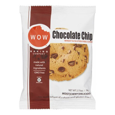 Wow Baking Company Wow Baking Wheat & Gluten Free Cookies, Chocolate Chip, 2.75 Oz, 12 Pack