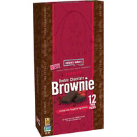 Nature's Bakery Double Chocolate Brownie Raspberry 12-2 oz. (Case of 12)
