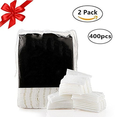 Zinnor Premium Cotton Facial Cleansing Pad ORGANIC Cotton Makeup Puff Face Wash Cotton Pads Remove Makeup,Double-Side Save Water Soft and Gentle Makeup Tools-2 Packs