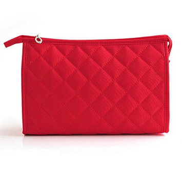 TheWin Cosmetic Bag Make-up Pouches, Rose Red
