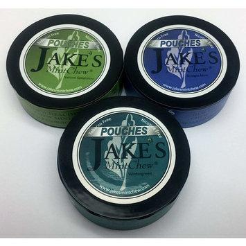 Jake's Mint Chew 3 tin variety pack