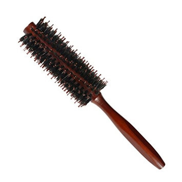Frcolor Hair Bristle Round Brush Comb Twill Blow Dry Hair Comb for Hair Styling Drying Curling Adding Hair Volume and Shine