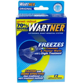 Wartner Cryogenic Wart Removal System, 12 Applications