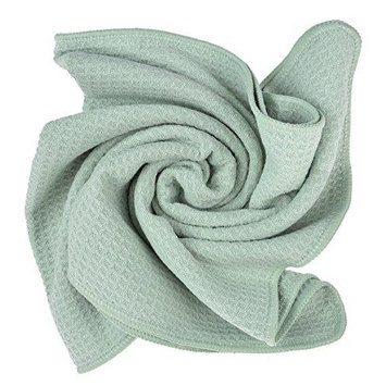 sinland microfiber super absorbent hair drying towel bath towel hand towels 20 inchx40 inch light jade