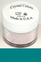 Sugarpaste Crystal Color Powder Food Coloring One Jar of 2.75 Grams - Teal