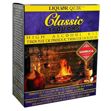 Liquor Quik Classic Liquors One Gallon High Alcohol Kit (Sambuca Liqueur)