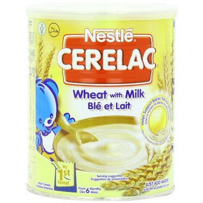 Nestle Cerelac, Wheat With Milk, 14.11 Ounce Can [1]