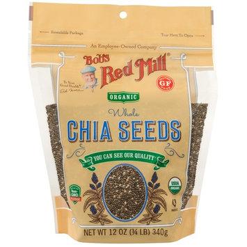 Bob's Red Mill, Oragnic Whole Chia Seeds, 12 oz (340 g)