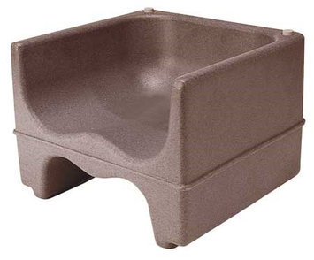 Cambro Dual Booster Seat (Dark Brown). Model: EA200BC1131
