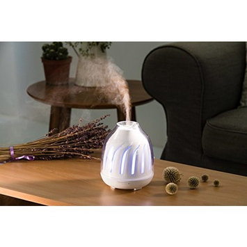 Arospa Vortex Ultrasonic Essential Oil Diffuser Aromatherapy with Relaxing & Soothing Multi-Color LED Light - Perfect for Home, Office, Spa