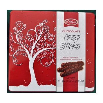Delacre Chocolate Coated Crisp Sticks