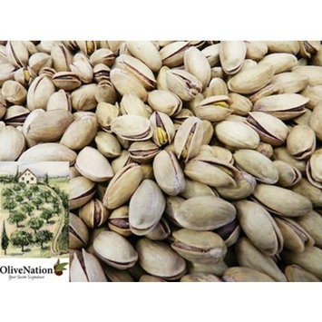 OliveNation Large Premium Turkish Pistachios Roasted & Salted in the Shell 8 oz