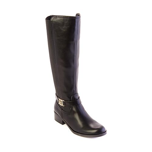 Tommy Hilfiger Global 2 Tall Boots 8 M, Black