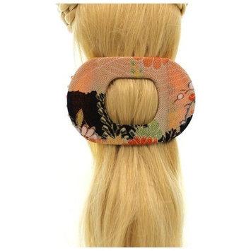 Annie Loto Sudios Jewelry Black Wide Clip Hair Accessory Style, 2.25 in. - 352A