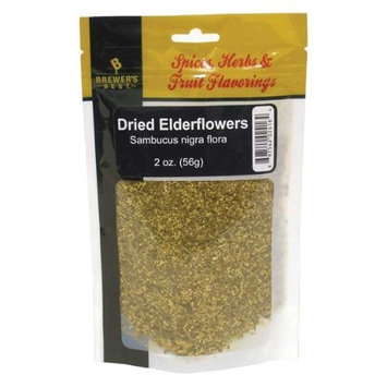 Brewer's Best Brewing Herb's and Spices - Dried Elderflowers, 2 oz