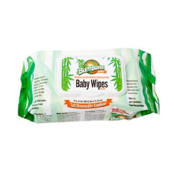 Bum Boosa Bamboo Products Baby Wipes - 3 Pack 240 Count
