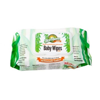 Bum Boosa Bamboo Products Baby Wipes - 6 Pack 480 Count