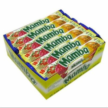 Mamba Variety 18 Fruit Chews 24 pack (2.65 oz per pack) (Pack of 2)