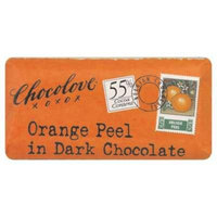 Chocolove Xoxo Dark Chocolate Orange Peel Mini Bar 1.2 Oz (Pack of 12) - Pack Of 12