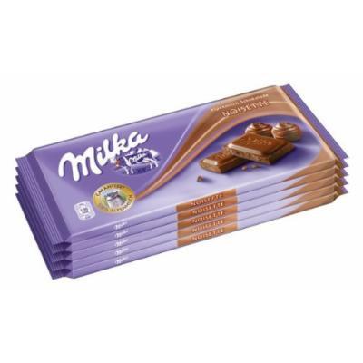 Kraft Foods: Milka Chocolate Noisette - 5 x 100 g