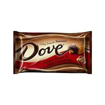Dove Silky Smooth Promises Peanut Butter & Milk Chocolate 7.94 Oz (4 Count)