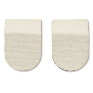 HAPAD Heel Pads, 2-1/2 x 3/16 inches, case of 12 pairs