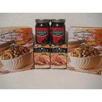 Trader Joe's Thanksgiving Bundle, 2- Cornbread Stuffing Mix, 2- Cranberry Sauce, 2- Turkey Gravy!. Enjoy!